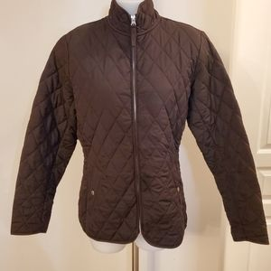 Lands' End DORY Jacket Brown Sz Small